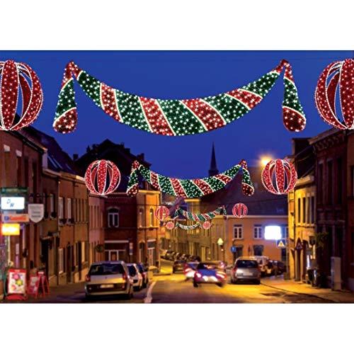 Bethlehem Lighting GKI Commercial Grade LED Lighted Zurich Swag Christmas Decoration Display 11
