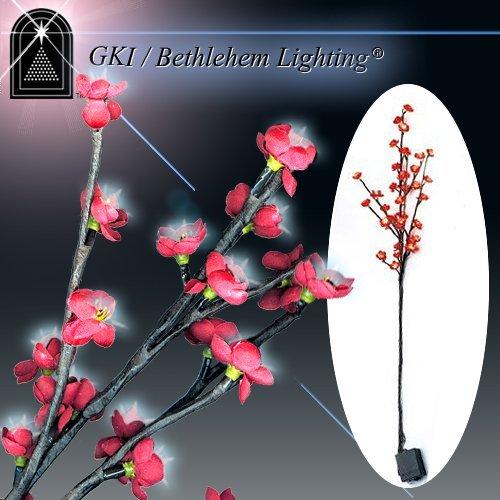 GKI Bethlehem Lighting 100022013 LED Red Blossom Branch