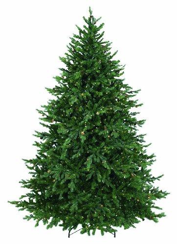 GKI Bethlehem Lighting 75-Feet PE and PVC Tips Pre-Lit Hunter Christmas Tree with 850 Clear Mini Lights