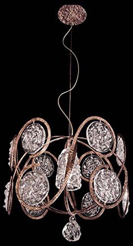 Classic Lighting 10041 WB Celeste Artistic Light Pendant 18 x 18 x 16 Winter Bronze