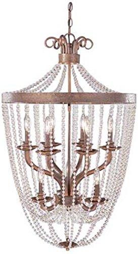 Classic Lighting 81026 CPB Grace Wrought Iron Lantern Copper Bronze