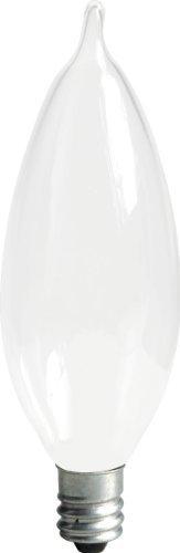 GE Lighting Soft White 66108 60-Watt 640-Lumen Bent Tip Light Bulb with Candelabra Base 8-Pack Size Soft White Bent Tip 8-Pack Style 60W Cac 640 lmns Model 66108 Outdoor Hardware Store