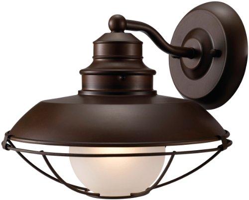 Hardware House H10-2797 Barnyard Outdoor Light Fixture Down Light Classic Brown