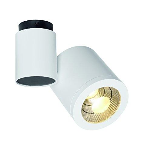 SLV Lighting 7152111U Enola C Spot 1 LED Ceiling Lamp White Finish