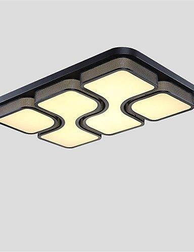 WCG 36W Modern Style Simplicity Acrylic LED Ceiling Lamp Flush Mount Living Room Dining Room Bedroom light Fixture  white-220-240v