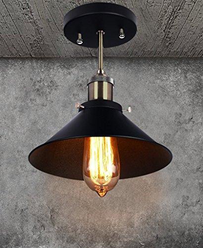 Rustic Ceiling Light Smartamp Green Lighting Chic Industrial Pendant Lighting Retro Vintage Flush Mount Lampshade