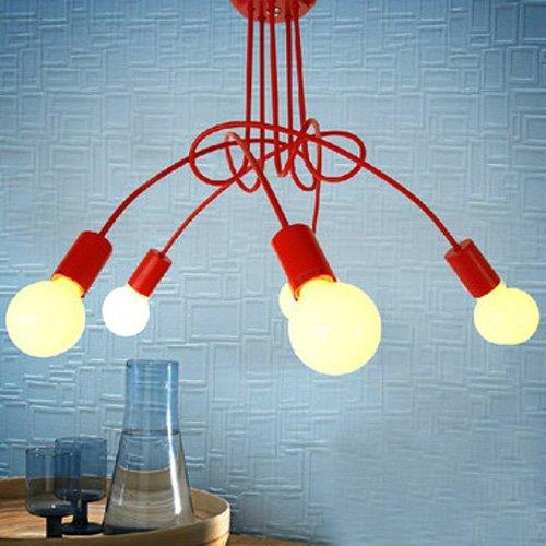 Lightinthebox Chandelier 5 Light Modern Characteristic Metal Paintinghome Ceiling Light Fixture Flush Mount