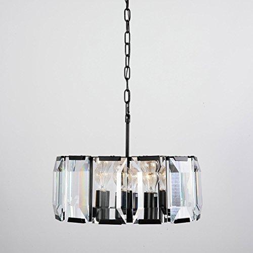 Lightinthebox Vintage Bulk Crystal Ceiling Chandelier Modern Home Ceiling Light Fixture Flush Mount Pendant