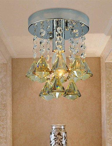 SSBY LightMyself Max 60W Modern Ceiling Light Contemporary Crystal Chrome Crystal Ceiling Lamp  110-120v