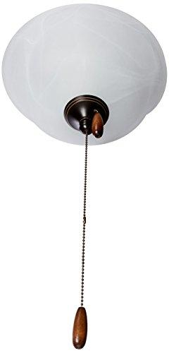 Progress Lighting P2612-20 AirPro 3-Light Ceiling Fan Light Antique Bronze