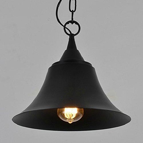 Edison Vintage Pendant Light Black Hat Iron Rustic Reto Hanging Ceiling Lamp