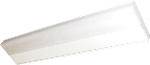 Maxim 87809WT CounterMax MX-FD 43 1-Light Fluorescent White Finish White Glass Mini Bi Pin T5 Fluorescent Fluorescent Bulb  18W Max Wet Safety Rating 2700K Color Temp Shade Material 1355 Rated Lumens