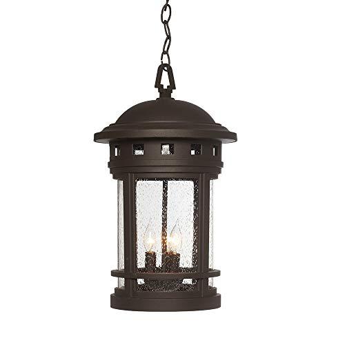 Designers Fountain 2394-ORB Sedona Hanging Lanterns Oil Rubbed Bronze Renewed