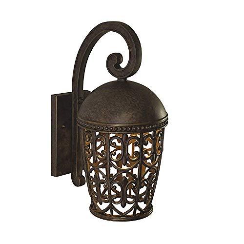 Designers Fountain 97592-BU Amherst-DS Wall Lanterns Burnt Umber