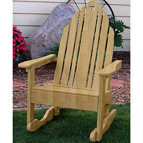 Prairie Leisure Design Grandparents Adirondack Rocking Chair