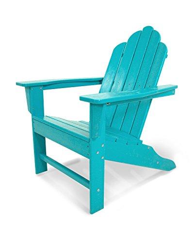 POLYWOOD ECA15AR Long Island Adirondack Chair Aruba