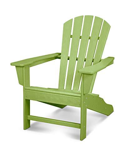 POLYWOOD HNA10-LI Palm Coast Adirondack Chair Lime