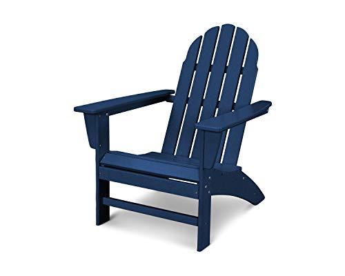 POLYWOOD Vineyard Adirondack Chair Navy