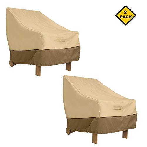 Classic Accessories Veranda Adirondack Patio Chair Cover Standard with Veranda Cover 2 Pack Adirondack Chair
