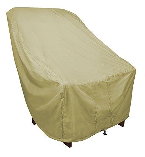 Eevelle Portofino Adirondack Patio Chair Cover  315 L x 335 D x 36 H  Tan