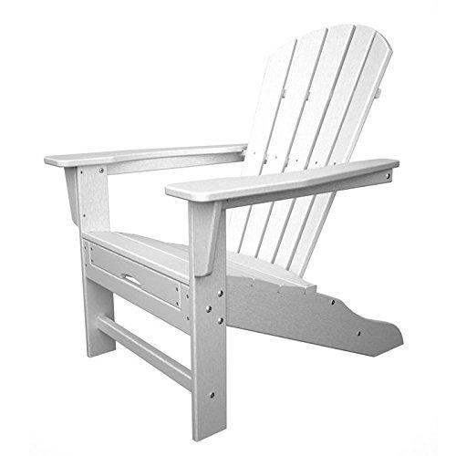 Eco-friendly Adirondack Chair In White