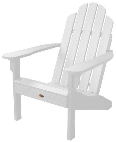 Highwood Classic Westport Adirondack Chair White
