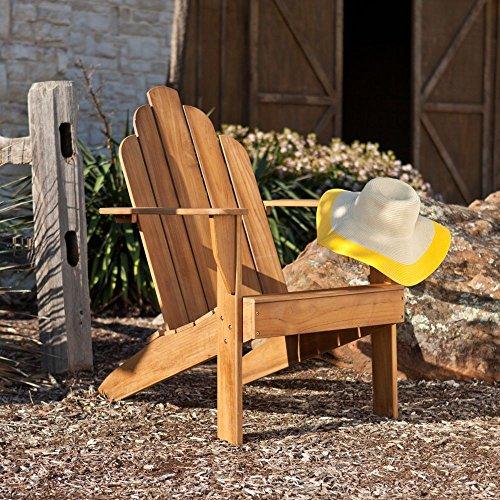 Southern Enterprises Soleil Teak Adirondack Chair
