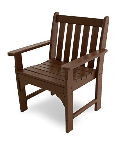 POLYWOOD GNB24MA Vineyard Garden Arm Chair Mahogany