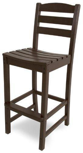 POLYWOOD TD102MA La Casa Café Bar Side Chair Mahogany