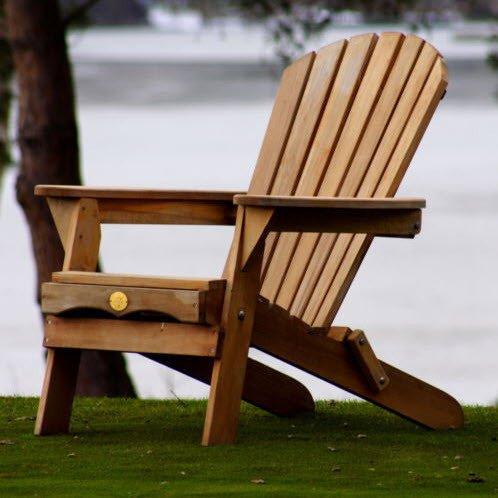 Bear Chair Folding Adirondack Chair Kit Cedar BC300C