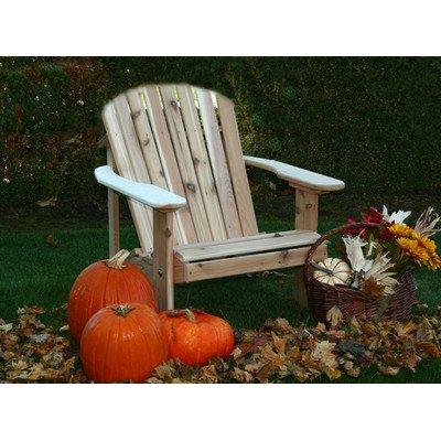 Buyers Choice Phat Tommy Wide Western Cedar Adirondack Chair