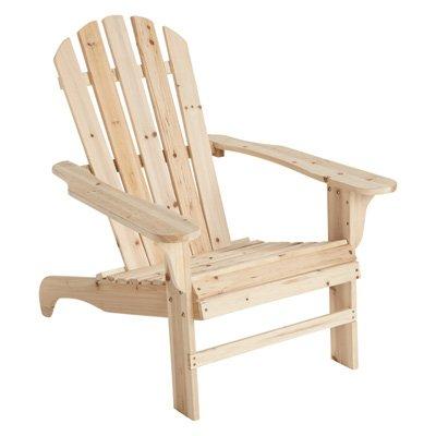 Cedar Adirondack Chair - 35 34inL x 30 12inW x 35 12inH Model CS-001KD