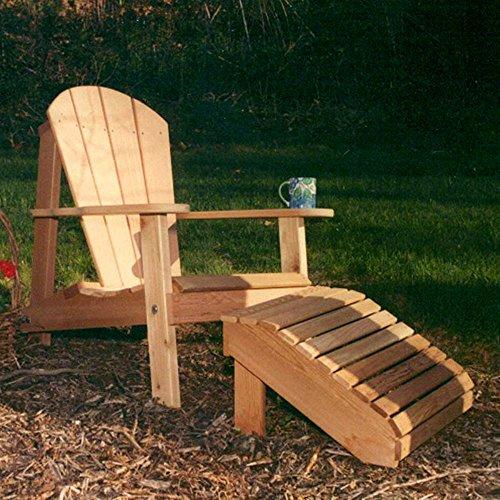 Creekvine Designs - Cedar Adirondack Chair Footrest Set