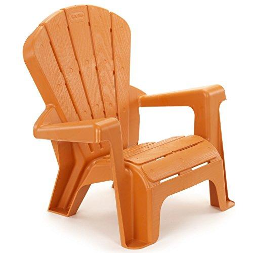 Garden Chair Conversation Seat Plastic Orange Outdoor