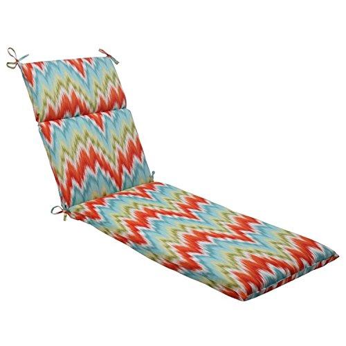725 Solarium Southwest Chevron Outdoor Patio Furniture Chaise Lounge Cushion