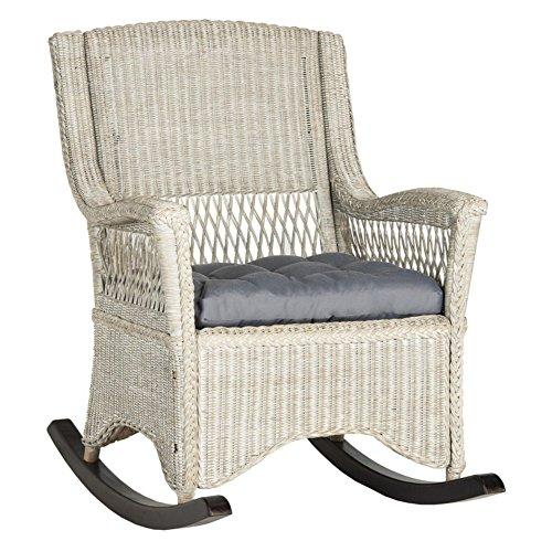 Safavieh Aria Wicker Outdoor Rocking Chair