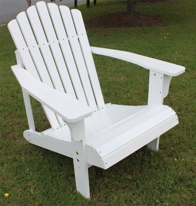 Cedar Adirondack Chair White