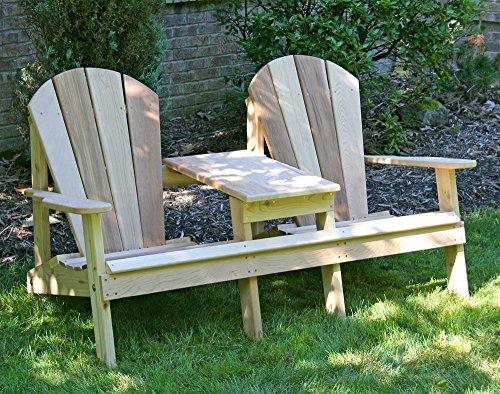 Creekvine Designs Cedar Adirondack Settee