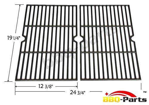 Hongso Pcb152 Universal Gas Grill Grate Cast Iron Cooking Grid Replacement Sold As A Set Of 2