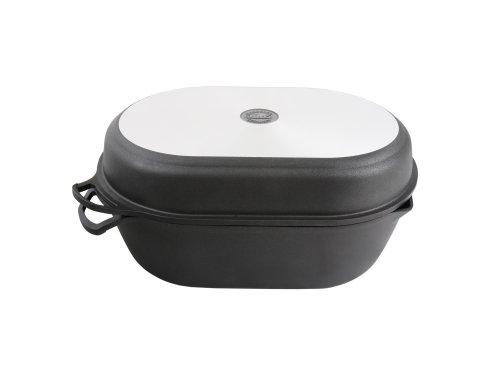 BAF Gigantnewline Super Roaster M Grill Lid 9 Litre Die-cast Aluminium Black 40 cm