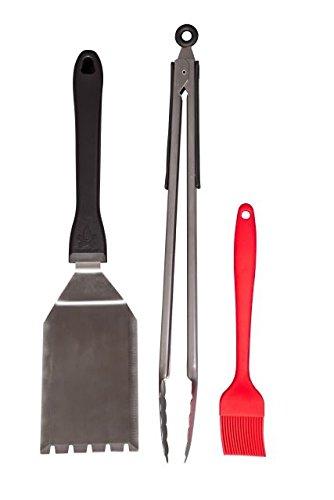 Camp Chef Grill Spatula Tong Brush Set
