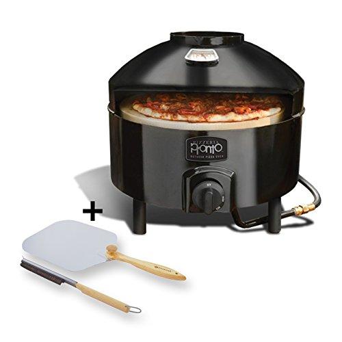 Pizzacraft Pizzeria Pronto Outdoor Pizza Oven - PC6000 and Pizzacraft Pizza Oven AccessoriesFolding Peel Stone Brush - PC0217