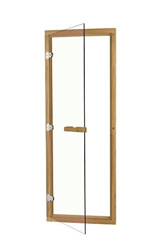 Clear All Glass Cedar Sauna Door