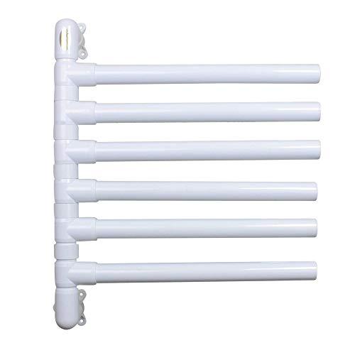 The Original Hanging Towel Rack 6 Towel White Model