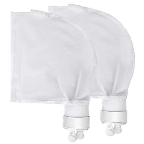 Kohree Nylon Mesh Pool Cleaner Polaris Bag Replacement Compatible for Polaris 280 480 All Purpose Polaris Pool Cleaner Parts Filter Bag K13 K16 2 Pack