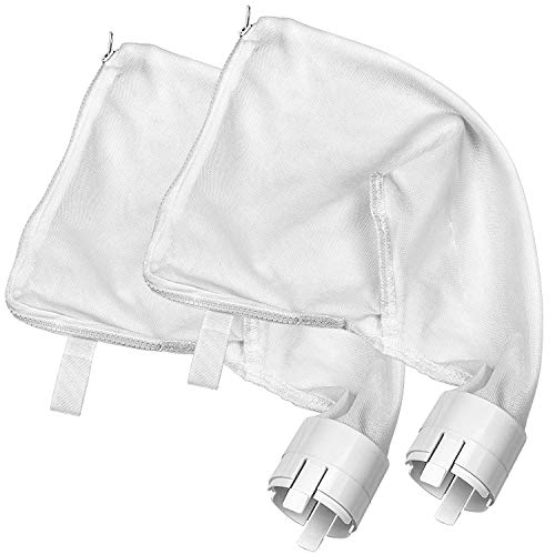 Sumille 2 Pack Zipper Replacement Bags Fit for Polaris 360380 Nylon Mesh All Purpose Bags Pool Cleaner Replacement Part 9-100-10219-100-1014