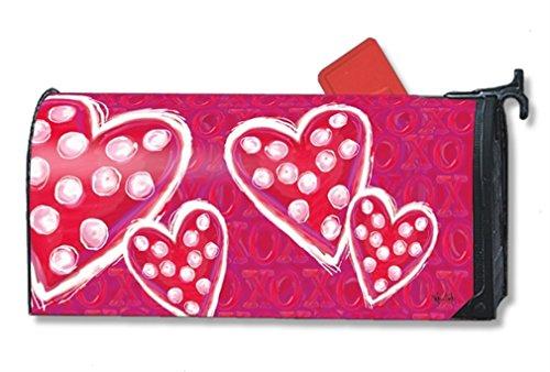 MailWraps Valentine Wishes Mailbox Cover 01289