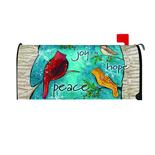 Toland Home Garden Peace Birds Decorative Mailbox Cover