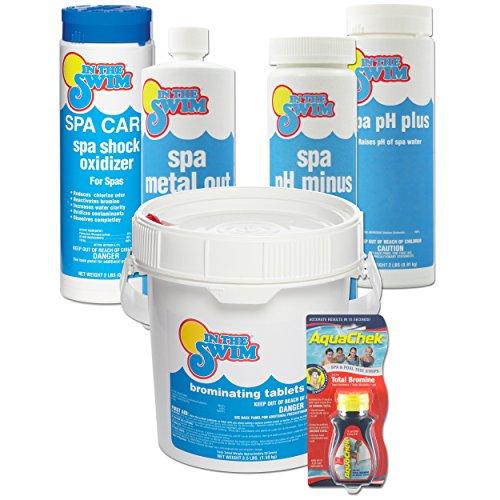 In The Swim Bromine Spa Start Up Chemical Kit