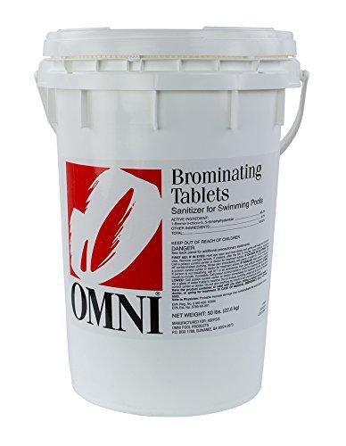 Swimming Pool Spa Bromine Tablets - 50 Lbs